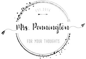 Mrs. Pennington for Your Thoughts
